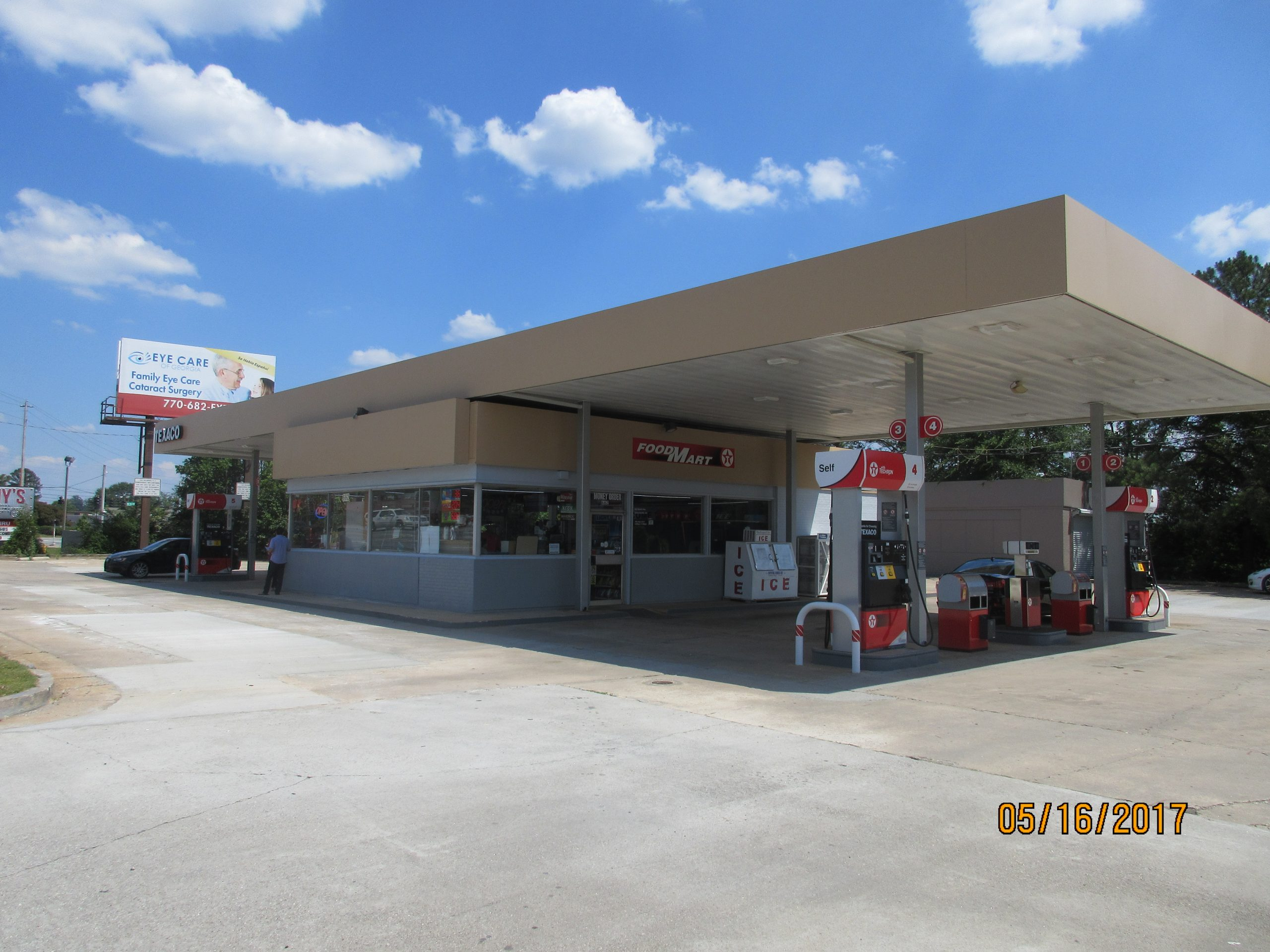 (SOLD) LAWRENCEVILLE TEXACO W/PROPERTY