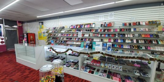 (SOLD)! Low Rent! Cell Phone Store for $30K!