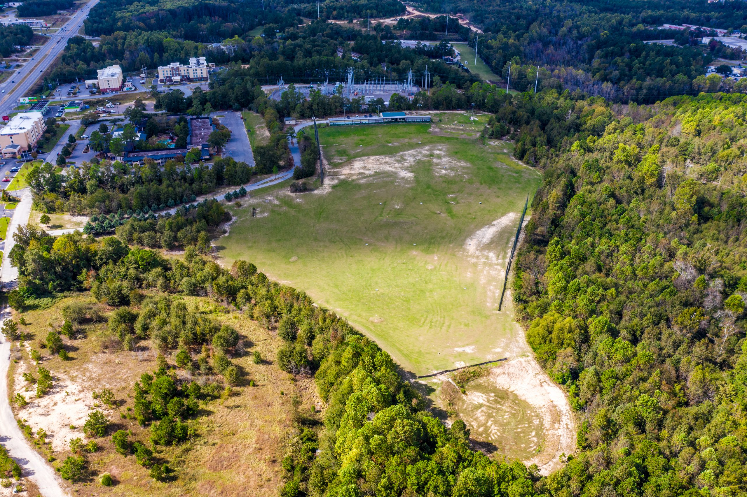 NEW LISTING! 45 Acres of Land and Driving Range Business