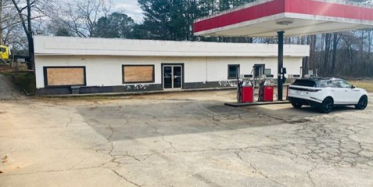 UNDER CONTRACT! Closed Gas Station Property for $599K!