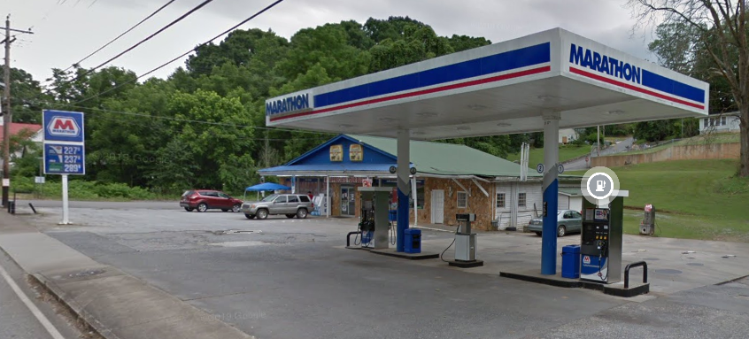 UNDER CONTRACT! Closed McCaysville Gas Station for $5K!